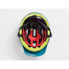 Bontrager Quantum MIPS Helmet teal/volt